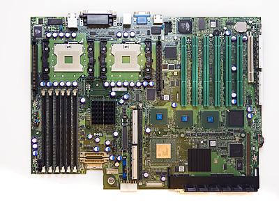 Placa De Baza Dell; Poweredge 1750; cn0c10474294045i03q3  0c1047  P1348
