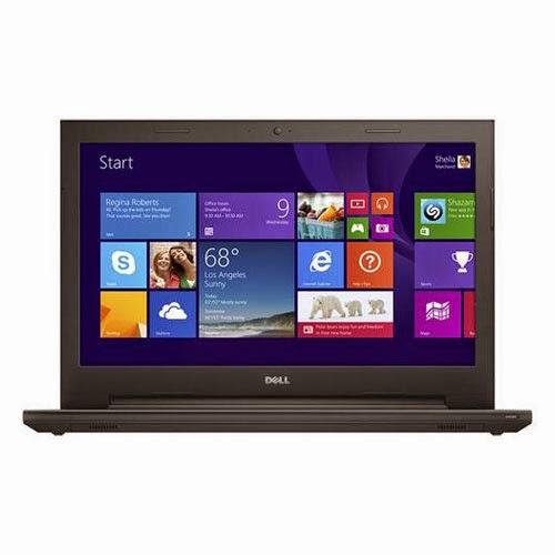 Laptop Dell Inspiron 15-3541; Amd A6-6310 2.4ghz; 8 Gb Ddr3; 1000 Gb Sata; Ecran 15.6  Hd+; Radeon R4; Dvd Rw; Webcam; Windows 8.1