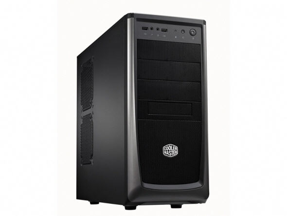 Carcasa Cooler Master Elite 372  Mid-tower  Atx  1* 120mm Fan (inclus)  I/o Panel  Black rc-372-kkn1