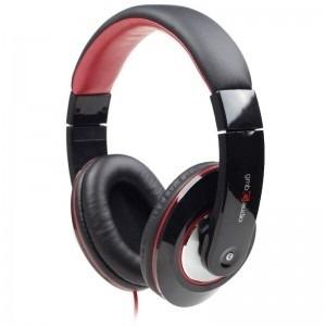Casti Cu Microfon Dimensiune Mare  Gembird Boston mhs-bos  Black/red 674671001001
