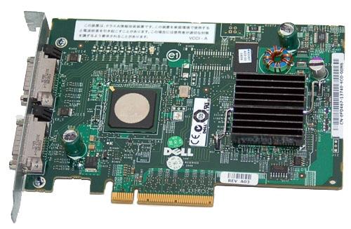 Controler Sas Dell Perc 5e; Pci-e 8x; cn0fd4671374075o00jh  0fd467  Cn-ofd467
