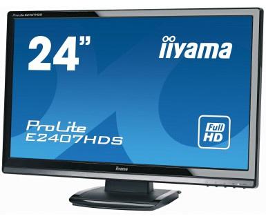 Monitor Iiyama; Model: Prolite E2407hdsd-b1; 24; Wide; Ref