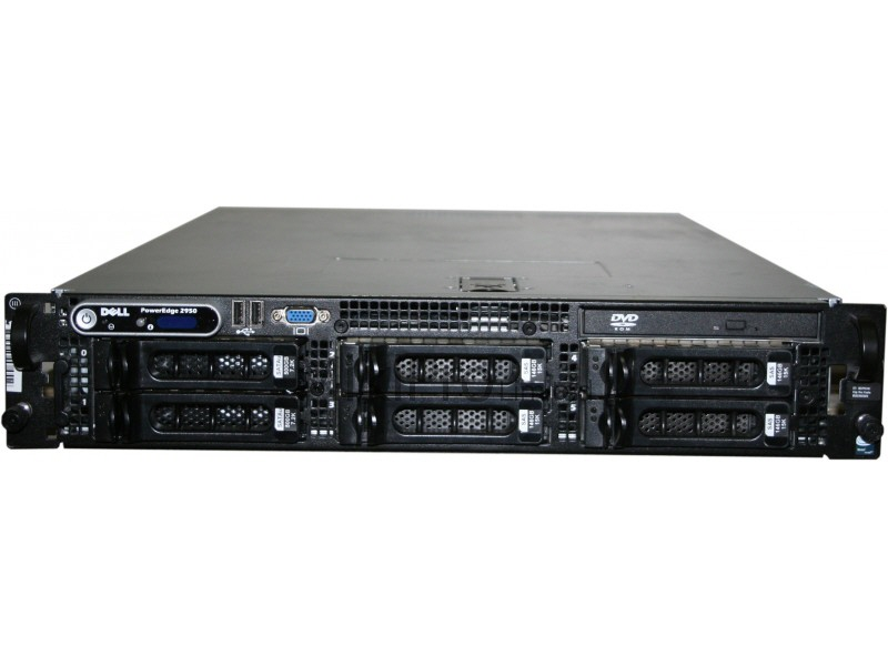 Dell Poweredge 2950; 2x Dualcore Intel Xeon 5110