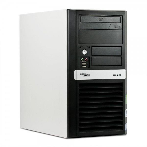 Fujitsu E5925  Intel Core 2 Duo E6550 2.33 Ghz  Tower