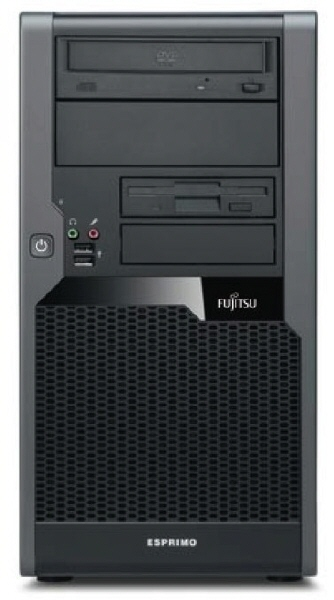 Fujitsu P7935; Intel Core 2 Quad Q8300 2.5 Ghz; Tower