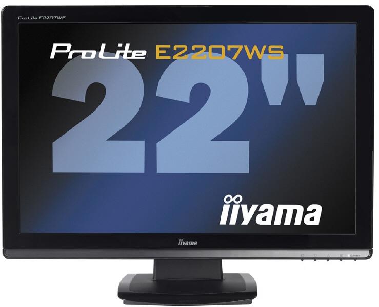 Monitor Iiyama; Model: Prolite E2207ws-b1; 22; Wid