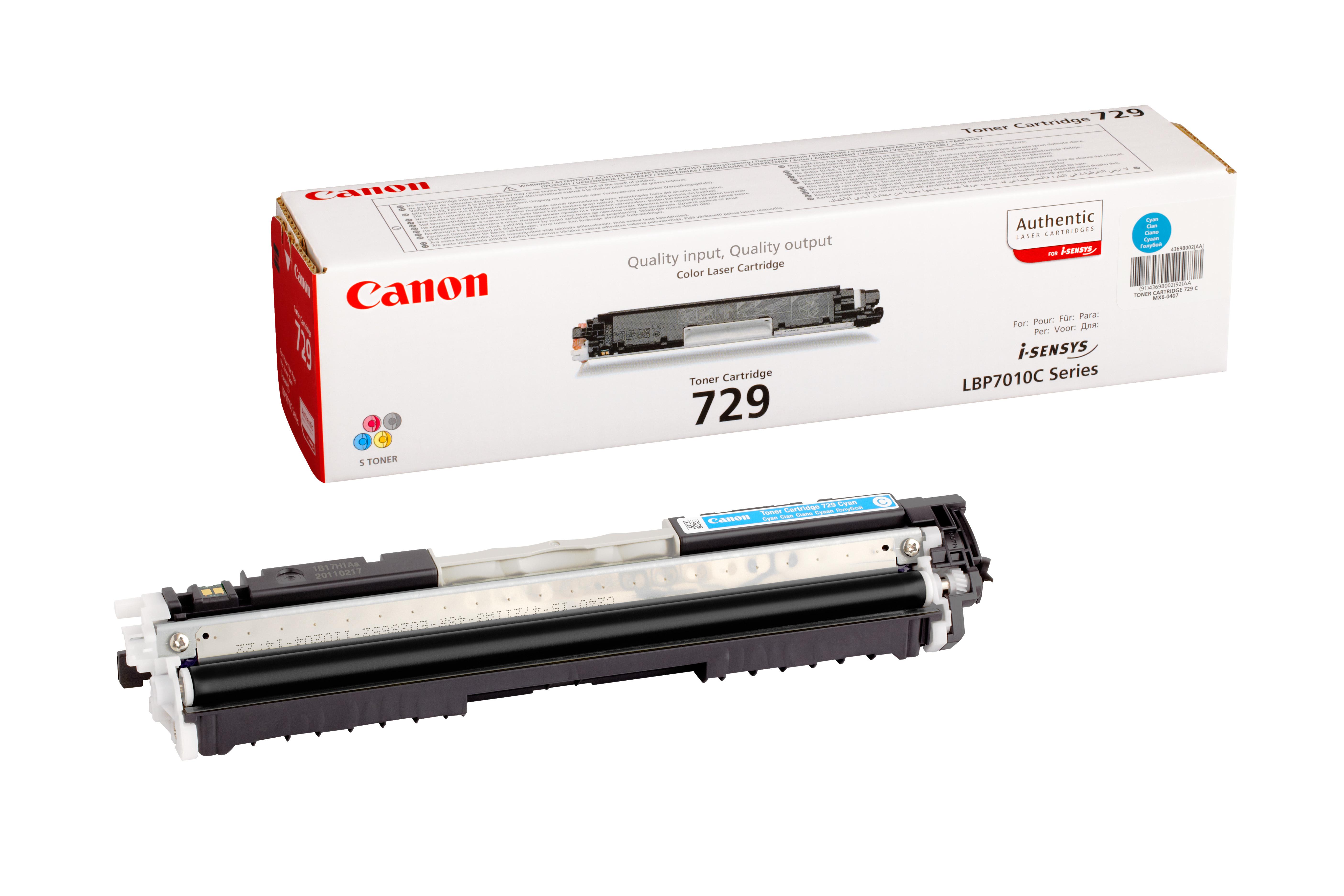 Cartus: Canon I-sensys Lbp-7010  Lbp-7018 Cyan