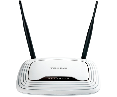 Router Tp-link; Model: Tl-wr841n; Management; Wireless; Porturi: 4 X Rj-45 10/100