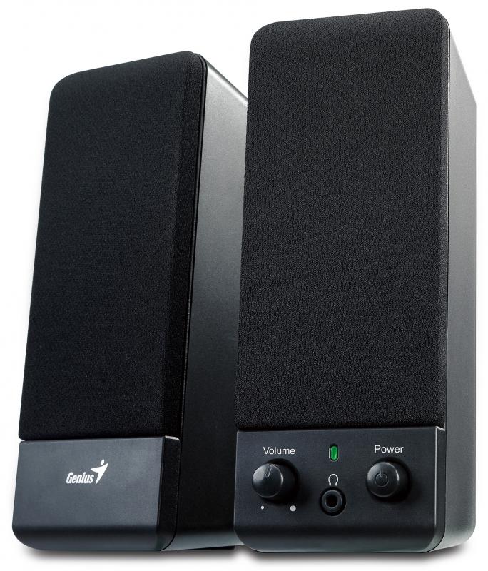 Boxe Genius Sp-s110 Black Stereo