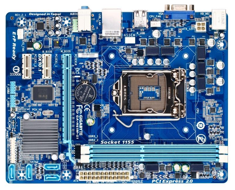 Placa De Baza Gigabyte Intel H61 ; Model : H61m-s1