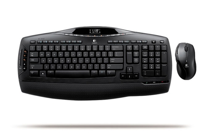 Kit Tastatura + Mouse Logitech  Model: Mx 3200  Layout: Spn  Negru  Usb  Wireless  Multimedia