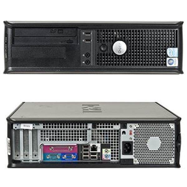 Dell Optiplex 745; Intel Core2duo E6300 1.8 Ghz; Sff