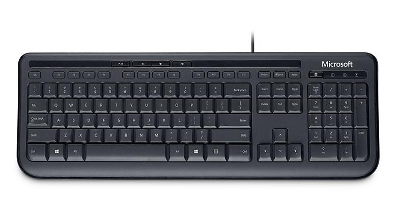 Tastatura Microsoft; Model: 600; Layout: Us; Negru