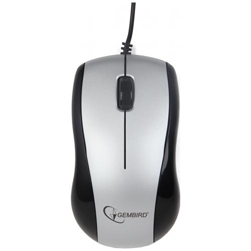 Mouse Gembird; Mus-u-002; Negreu; Usb