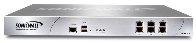 Switch Cu Management  Sonicwall Model: 3500; Portu