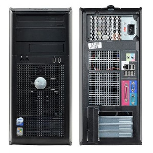 Dell Optiplex 745; Intel Core 2 Quad Q6600 2.4 Ghz; Tower