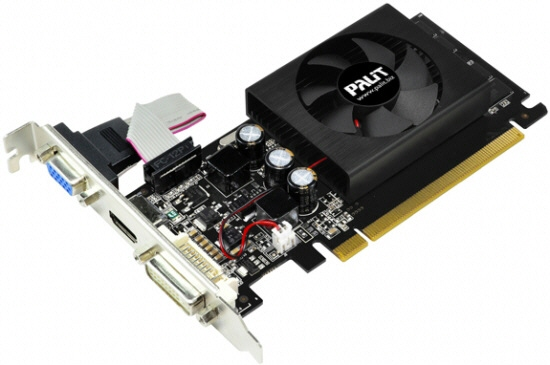 Placa Video Palit 1024 Mb; Gddr3; 64 Bit; Pci-e 16