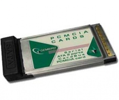 Eu.mark Adapter: Pcmcia To 2 X Sata