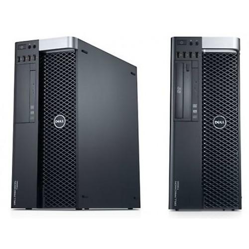DELL, PRECISION T7600, Intel Xeon E5-2643, HDD: 8X146 GB SAS, 3.30 GHz, RAM: 32 GB, video: Quadro K5200