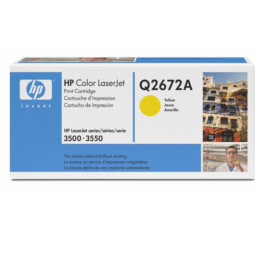 Cartus: Hp Color Laserjet 3500  3550 Series With C