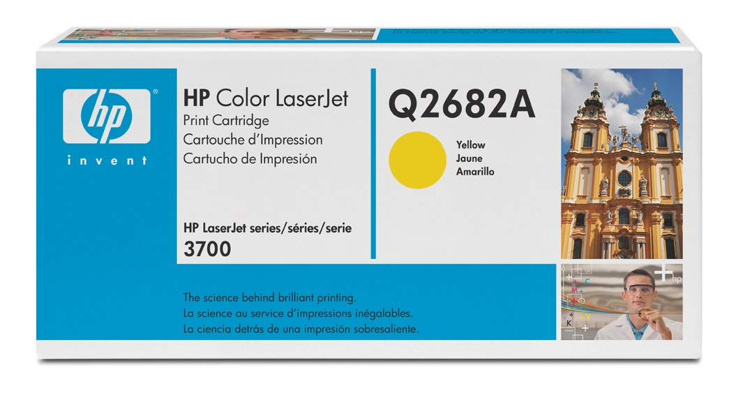 Cartus: Hp Color Laserjet 3700 Series With Chip Ye