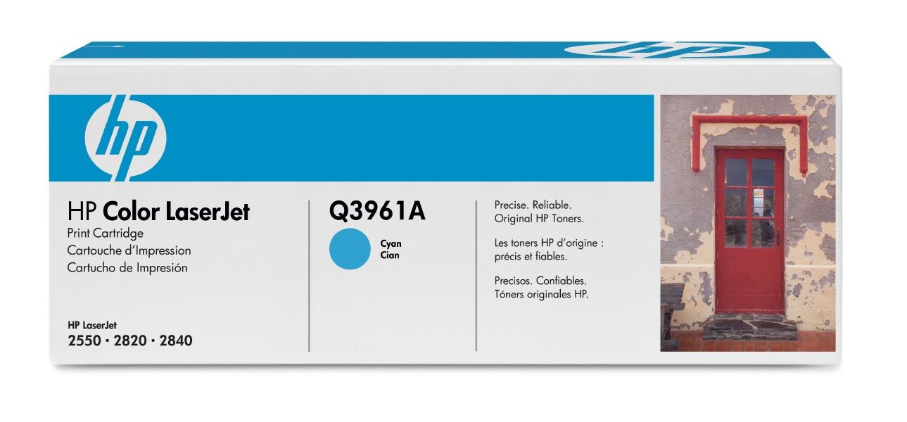 Cartus: Hp Color Laserjet 2550  2820  2840 Cyan