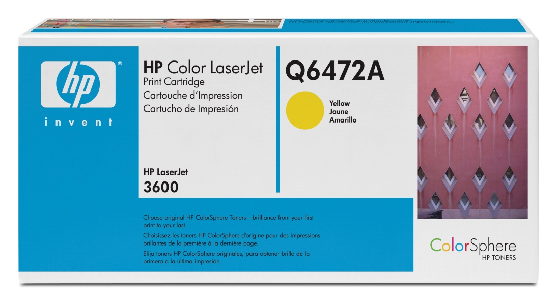 Cartus: Hp Color Laserjet 3600 Series With Chip Ye