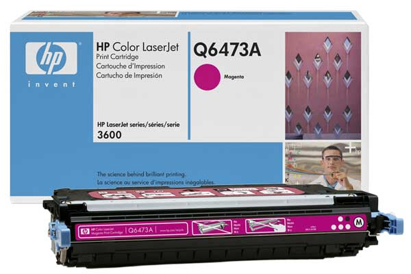 Cartus: Hp Color Laserjet 3600 Series With Chip Ma