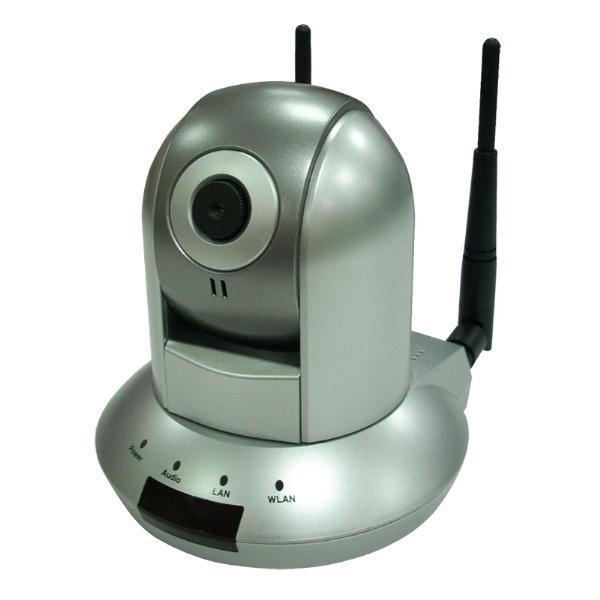 Wireless Camera Logilink Pan-tilt Ip Camera; wc0007
