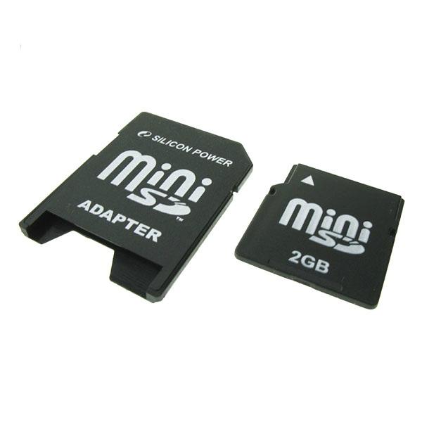 Mini Sd Card Silicon Power; Model: Sp002gbsdm045v1