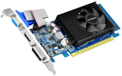 Placa Video Sparkle 1024 Mb; Gddr3; 64 Bit; Pci-e 16x; Nvidia Geforce 210; Vga; Dvi; Hdmi