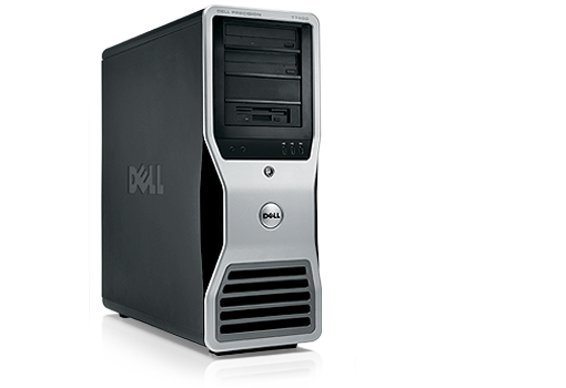 Dell Precision T5400  2 X Intel Xeon X5460 3.2 Ghz  Tower