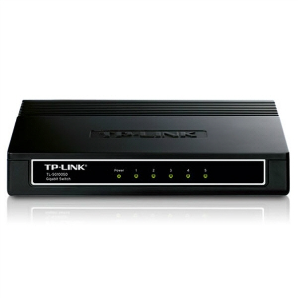 Switch Tp-link; Model: Tl-sg1005d; Porturi: 5 X Rj-45 10/100/1000