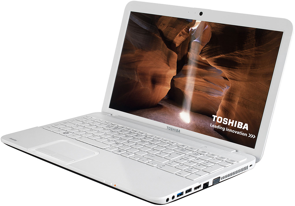 Laptop Toshiba Satellite C55-a; Intel Core I3-2348m  2300 Mhz; 4096 Mb Ram; 500 Gb Hdd; Intel Hd Graphics 3000; Dvd-rw; Windows 8  Factory Refurbished
