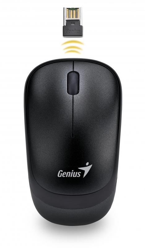 Mouse Genius; Model: Traveler 6000; Negru; Usb; Wi