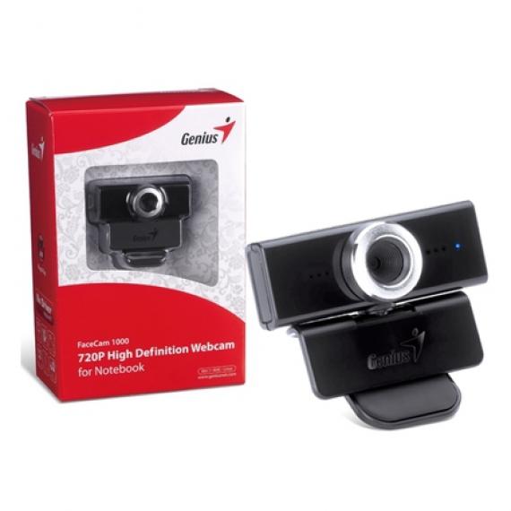Webcam Genius; Model: Facecam 1000; 1.3 Mp