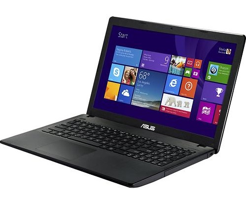 Laptop ASUS X551CA; Intel Core i3-3217U, 1800 MHz; 4096 MB RAM; 500 GB HDD; Intel HD Graphics 4000; DVD-ROM; Windows 8, factory refurbished