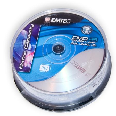 Blank Dvd+r Emtec