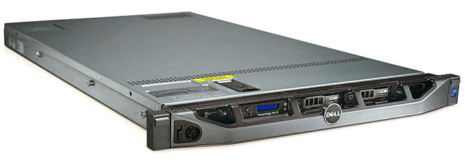 DELL PowerEdge R610; QuadCore Intel Xeon E5530, 2.4 GHz; 12 GB RAM; DVD; RAID Controller; PERC 6/I; 6x 2,5