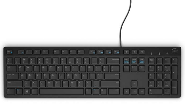 Tastatura DELL KB 216, layout: olandeza, USB, Negru