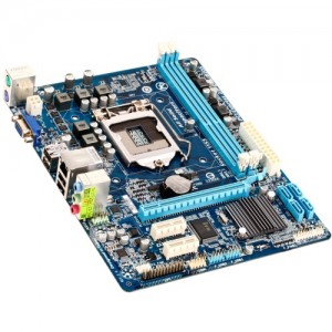 Placa de baza GIGABYTE INTEL H61 ; model : H61M-DS2V