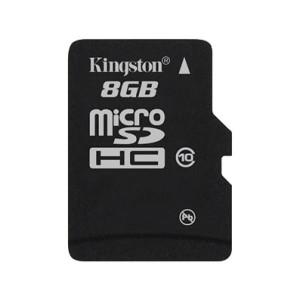 MICRO SD CARD KINGSTON; model: SDC10/8GB