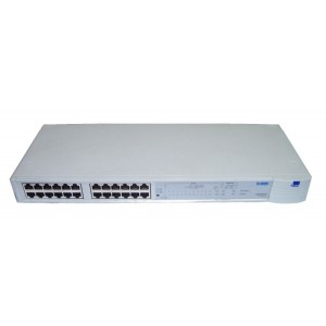 SWITCH 3COM; model: SUPERSTACK 3300; MANAGEMENT; PORT CONSOLA; PORTURI: 24 x RJ-45 10/100; REF