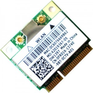 PLACA DE RETEA: DELL DW1397; WIRELESS 54 Mbps; uPCI; REF