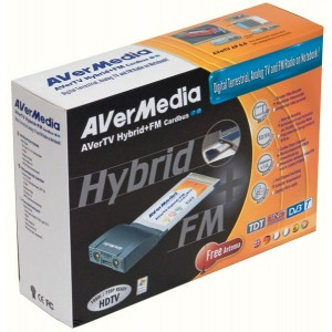 Tuner TV AVERMEDIA model: AVERTV HYBRID; (telecomanda); PCMCIA