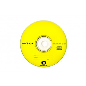 Blank DVD-R SERIOUX; 4.7GB; 16X; bulk