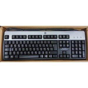 Tastatura HP, layout: SWE, NEGRU, USB, model: DT528A