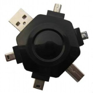 ADAPTOR USB UNIVERSAL 6 PORTURI