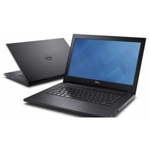 Laptop DELL, INSPIRON 3458, Intel Core i3-5005U, 2.00 GHz, HDD: 1 TB, RAM: 6 GB, unitate optica: DVD RW, video: Intel HD Graphics 5500, webcam