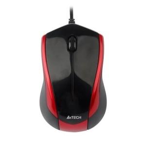 Mouse A4TECH; model: N-400-2; Rosu + Negru; USB